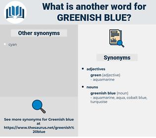 greenish blue, synonym greenish blue, another word for greenish blue, words like greenish blue, thesaurus greenish blue