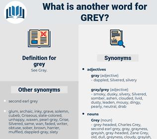 grey, synonym grey, another word for grey, words like grey, thesaurus grey