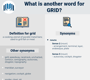 grid, synonym grid, another word for grid, words like grid, thesaurus grid