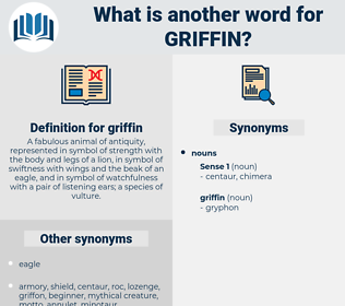 griffin, synonym griffin, another word for griffin, words like griffin, thesaurus griffin