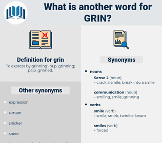 grin, synonym grin, another word for grin, words like grin, thesaurus grin