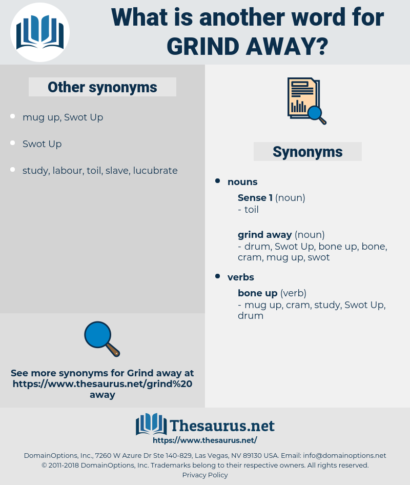 grind away, synonym grind away, another word for grind away, words like grind away, thesaurus grind away