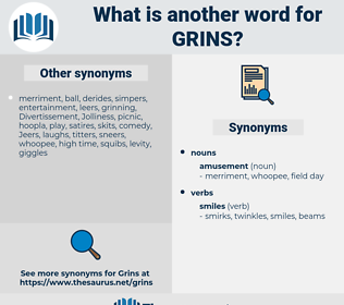 grins, synonym grins, another word for grins, words like grins, thesaurus grins