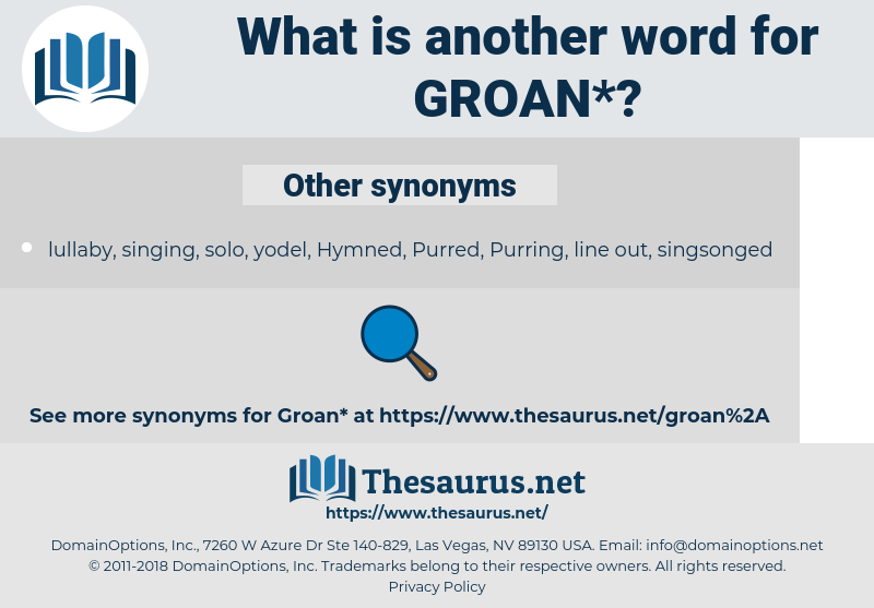 groan, synonym groan, another word for groan, words like groan, thesaurus groan