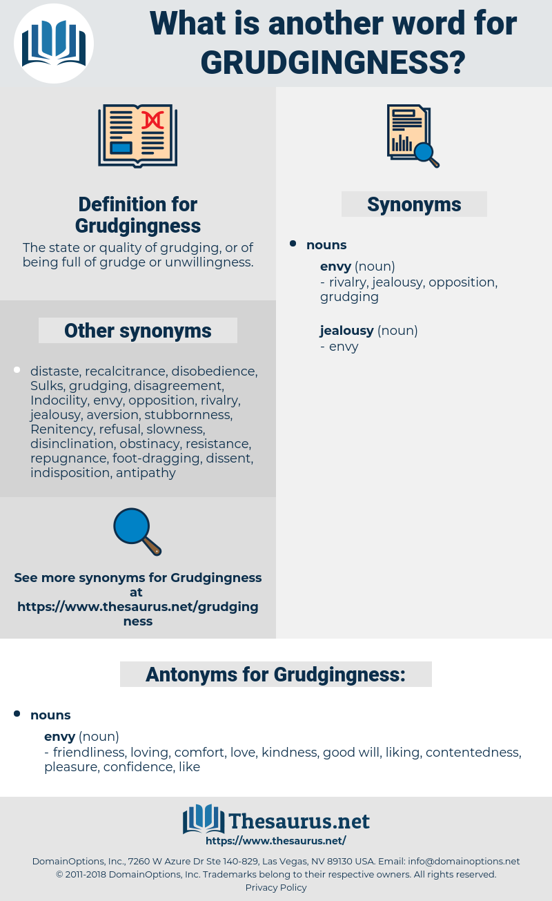 Grudgingness, synonym Grudgingness, another word for Grudgingness, words like Grudgingness, thesaurus Grudgingness