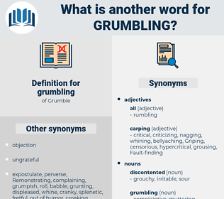 grumbling, synonym grumbling, another word for grumbling, words like grumbling, thesaurus grumbling