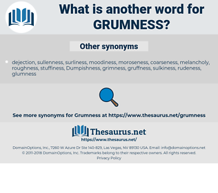 Grumness, synonym Grumness, another word for Grumness, words like Grumness, thesaurus Grumness