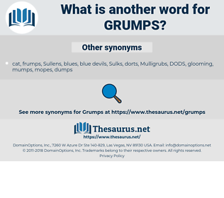 grumps, synonym grumps, another word for grumps, words like grumps, thesaurus grumps