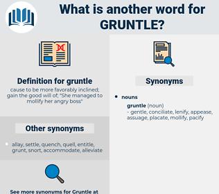 gruntle, synonym gruntle, another word for gruntle, words like gruntle, thesaurus gruntle