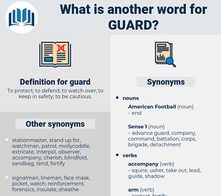 guard, synonym guard, another word for guard, words like guard, thesaurus guard