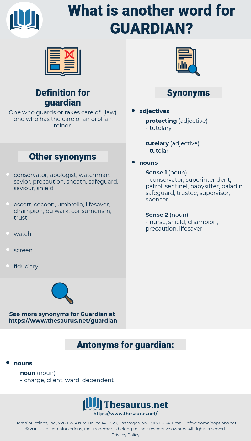 guardian, synonym guardian, another word for guardian, words like guardian, thesaurus guardian