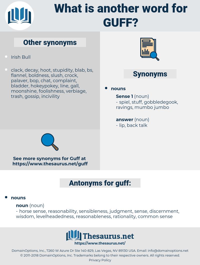 guff, synonym guff, another word for guff, words like guff, thesaurus guff