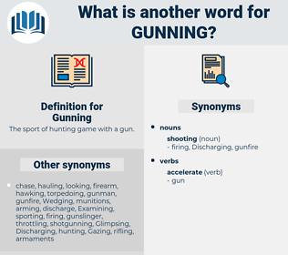 Gunning, synonym Gunning, another word for Gunning, words like Gunning, thesaurus Gunning
