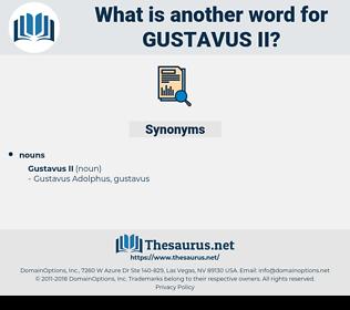 Gustavus Ii, synonym Gustavus Ii, another word for Gustavus Ii, words like Gustavus Ii, thesaurus Gustavus Ii