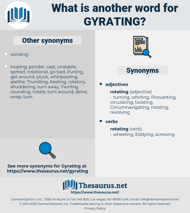 Gyrating, synonym Gyrating, another word for Gyrating, words like Gyrating, thesaurus Gyrating