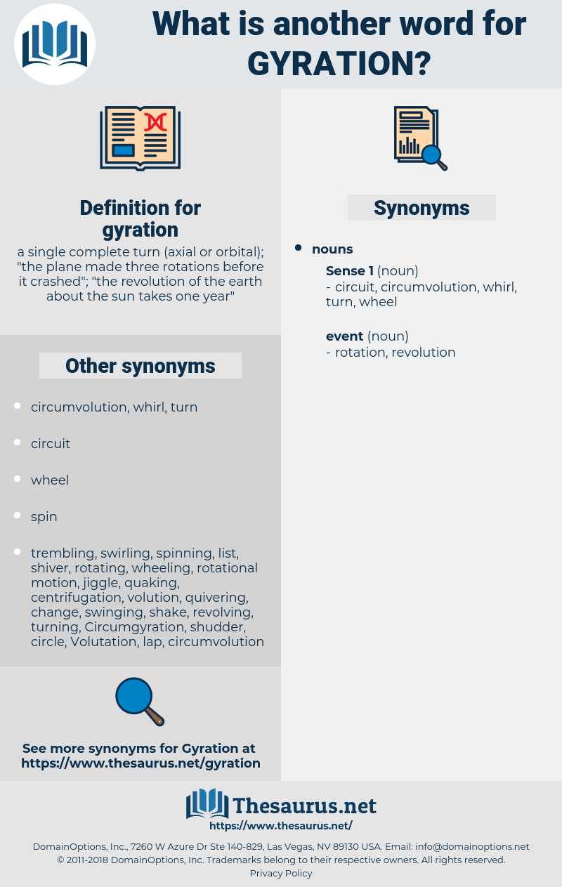 gyration, synonym gyration, another word for gyration, words like gyration, thesaurus gyration