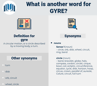 gyre, synonym gyre, another word for gyre, words like gyre, thesaurus gyre
