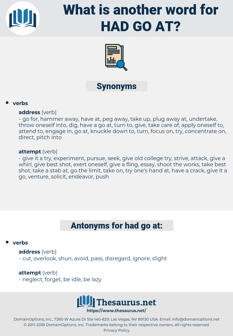 had go at, synonym had go at, another word for had go at, words like had go at, thesaurus had go at
