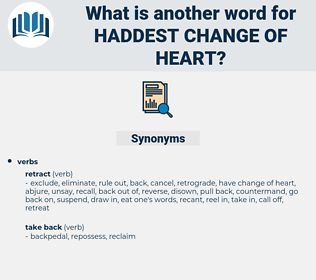 haddest change of heart, synonym haddest change of heart, another word for haddest change of heart, words like haddest change of heart, thesaurus haddest change of heart