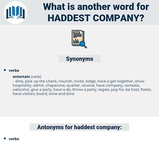 haddest company, synonym haddest company, another word for haddest company, words like haddest company, thesaurus haddest company