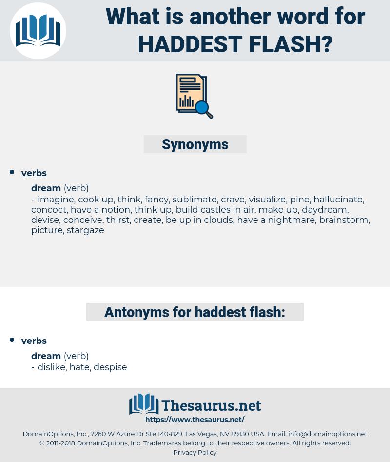 haddest flash, synonym haddest flash, another word for haddest flash, words like haddest flash, thesaurus haddest flash