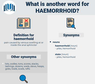 haemorrhoid, synonym haemorrhoid, another word for haemorrhoid, words like haemorrhoid, thesaurus haemorrhoid