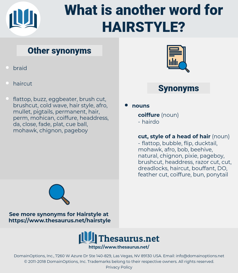hairstyle, synonym hairstyle, another word for hairstyle, words like hairstyle, thesaurus hairstyle