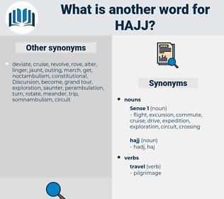 hajj, synonym hajj, another word for hajj, words like hajj, thesaurus hajj