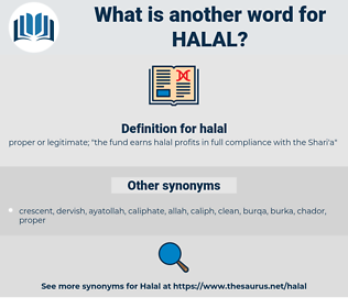 halal, synonym halal, another word for halal, words like halal, thesaurus halal