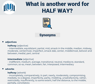 half-way, synonym half-way, another word for half-way, words like half-way, thesaurus half-way