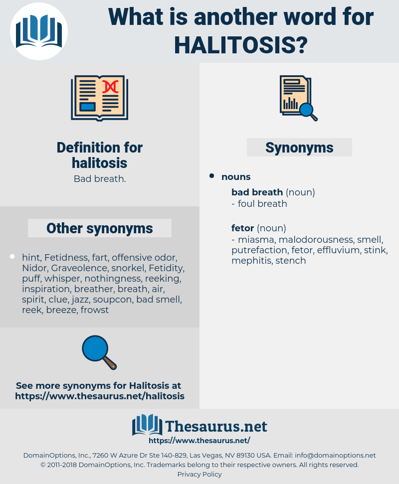 halitosis, synonym halitosis, another word for halitosis, words like halitosis, thesaurus halitosis