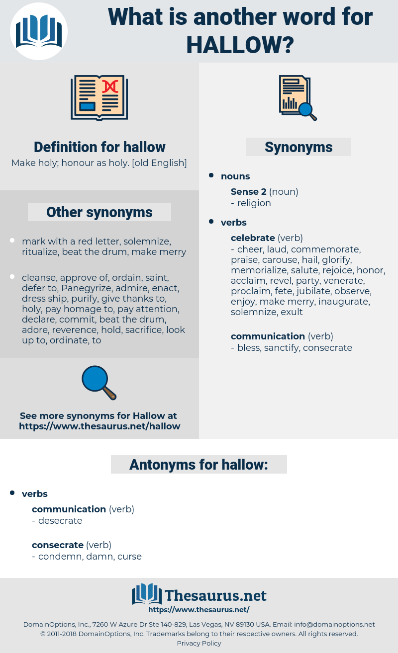 hallow, synonym hallow, another word for hallow, words like hallow, thesaurus hallow