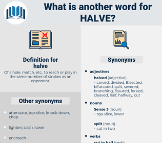 halve, synonym halve, another word for halve, words like halve, thesaurus halve