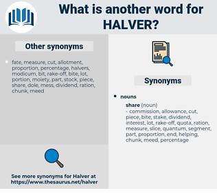Halver, synonym Halver, another word for Halver, words like Halver, thesaurus Halver