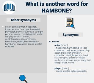 hambone, synonym hambone, another word for hambone, words like hambone, thesaurus hambone