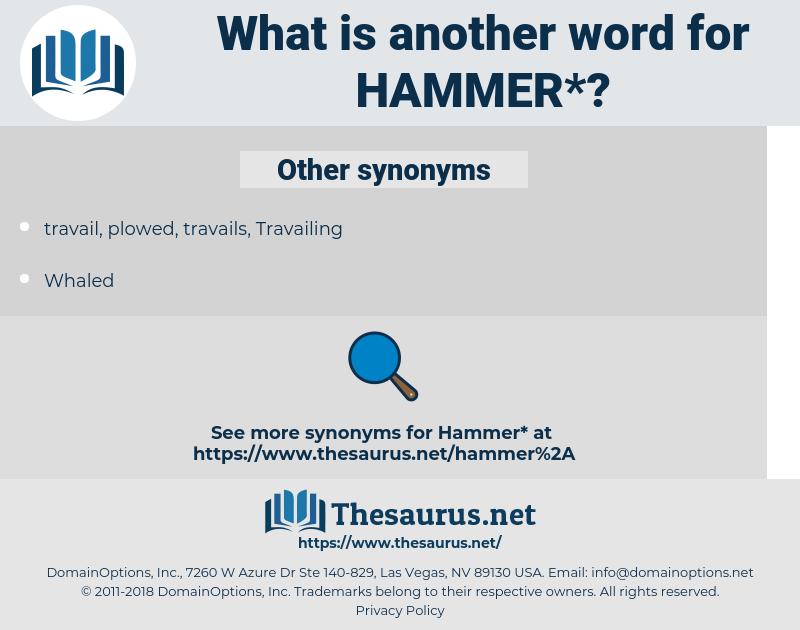 hammer, synonym hammer, another word for hammer, words like hammer, thesaurus hammer