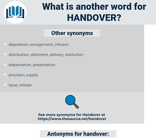 handover, synonym handover, another word for handover, words like handover, thesaurus handover