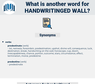 handwritinged wall, synonym handwritinged wall, another word for handwritinged wall, words like handwritinged wall, thesaurus handwritinged wall