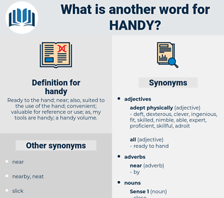 handy, synonym handy, another word for handy, words like handy, thesaurus handy