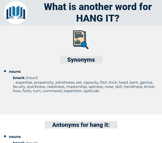 hang it, synonym hang it, another word for hang it, words like hang it, thesaurus hang it