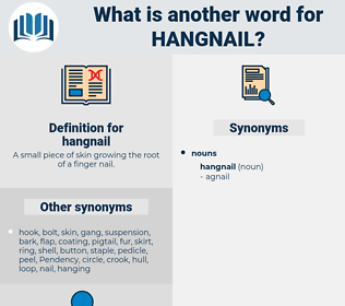 hangnail, synonym hangnail, another word for hangnail, words like hangnail, thesaurus hangnail