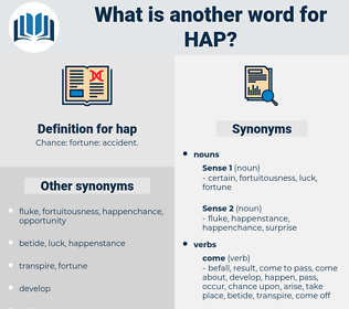 hap, synonym hap, another word for hap, words like hap, thesaurus hap