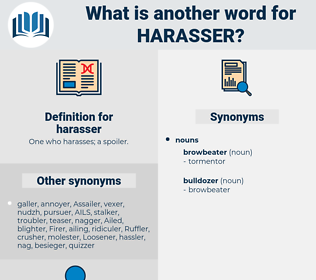 harasser, synonym harasser, another word for harasser, words like harasser, thesaurus harasser