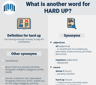 hard up, synonym hard up, another word for hard up, words like hard up, thesaurus hard up