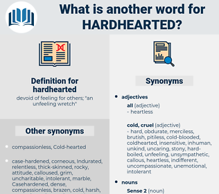 hardhearted, synonym hardhearted, another word for hardhearted, words like hardhearted, thesaurus hardhearted