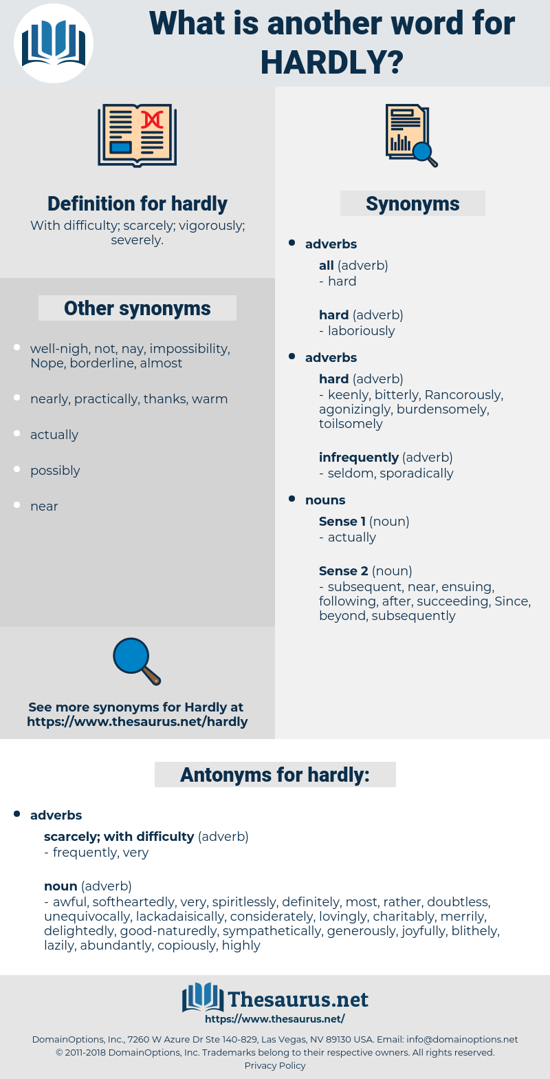 hardly, synonym hardly, another word for hardly, words like hardly, thesaurus hardly