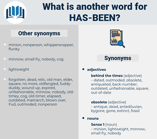 has-been, synonym has-been, another word for has-been, words like has-been, thesaurus has-been