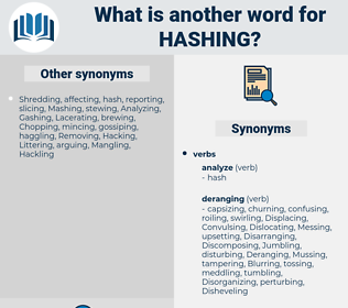 Hashing, synonym Hashing, another word for Hashing, words like Hashing, thesaurus Hashing