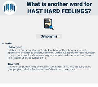 hast hard feelings, synonym hast hard feelings, another word for hast hard feelings, words like hast hard feelings, thesaurus hast hard feelings