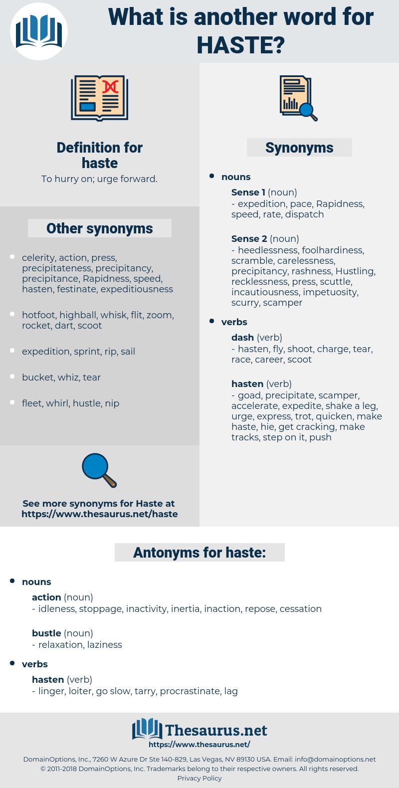 haste, synonym haste, another word for haste, words like haste, thesaurus haste